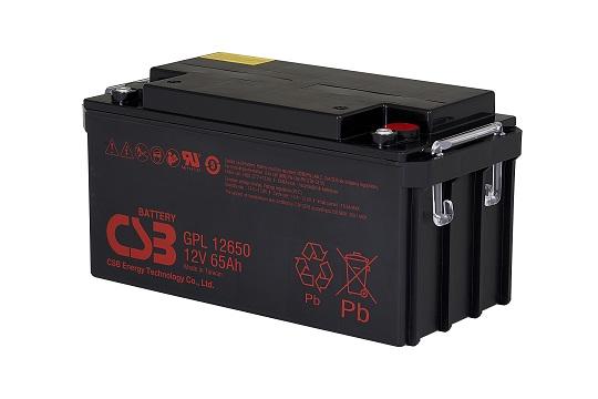 Акумуляторна батарея CSB  GPL12650
