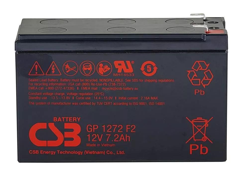 Акумуляторна батарея CSB GP1272