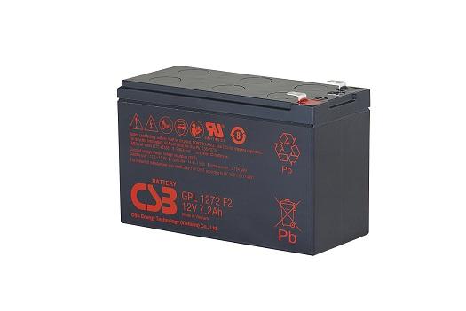 Акумуляторна батарея CSB GPL1272