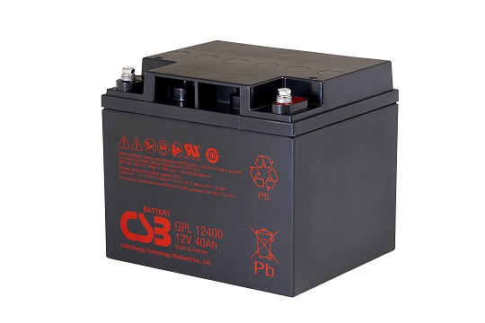 Акумуляторна батарея CSB GPL12400