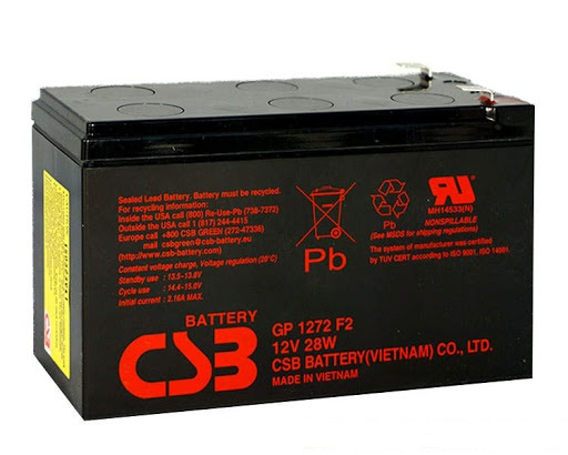 Акумуляторна батарея CSB GP1272 (12V28W)